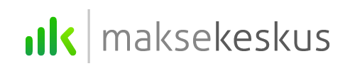 Maksekeskuse logo